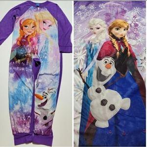 Frozen Pajamas & Sleeping Bag Sleep Cobo ❄